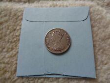 1865 Hong Kong 10 cents silver coin