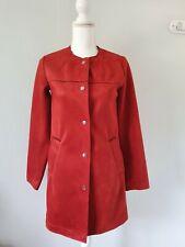 Womens Coat Size 6 Orange Primark <FF3370