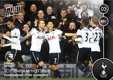 Topps Now 2016/17 Commanding Spurs Score 5 Trading Card Limited Edition