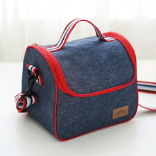 Thermal Insulated Cooler Lunch Box Carry Tote Waterproof Picnic Storage Bag Case