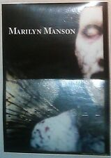 """Marilyn Manson AntiChrist large 5""""x6.5"""" STICKER DECAL deadstock new old stock"""