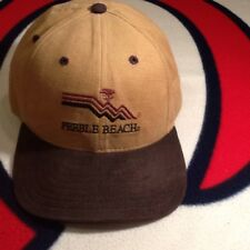VINTAGE PEBBLE BEACH NEW ERA FITTED WOOL HAT SIZE 7 1/4