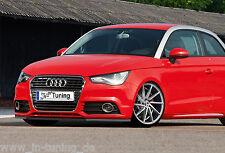 Azione speciale spoiler spada front spoiler labbro ABS per Audi a1 + SPORT BACK Abe