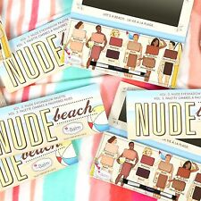 theBalm Cosmetics Palettes Nude Beach Eyeshadow Palette 10g for Women