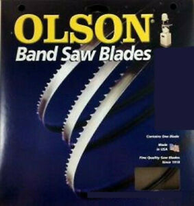 Olson FB10082 Band Saw Blade 3/16 x 0.025 x 82-Inch 10 TPI