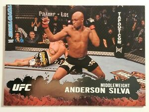 2009 Topps UFC Anderson Silva Round 2  Silver Card #33