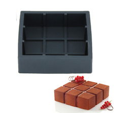 Silicone 3D Geometric Cake Baking Mold For Chocolate Mousse Chiffon Usa Uk Sale