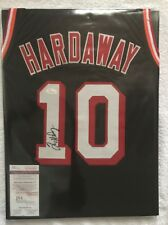 Tim Hardaway Signed Custom Heat Jersey #10 (JSA Witnessed)