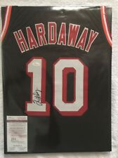 Tim Hardaway Signed Custom Bulls Jersey #10 (JSA)