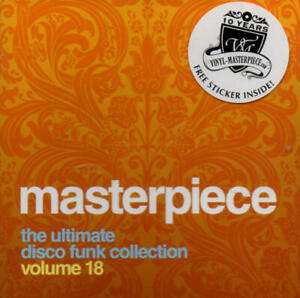 Masterpiece Volume 18 - The Ultimate Disco Funk Collection (CD) -Neu & OVP- 2014