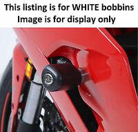 R&G RACING Aero Crash Protectors, WHITE, Ducati Supersport (S) 2017- *WHITE*