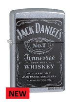 BRAND NEW JACK DANIELS BLACK LABEL  ZIPPO LIGHTER  FREE  UNITED KINGDOM SHIPPING