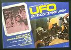CINEMA-fotobusta UFO DISTRUGGETE BASE LUNA! bishop, neve, shaw, TURNER