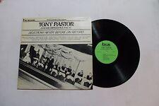 TONY PASTOR 1945-49 LP First Time Rec. FTR-1516 US VG+ RARE JAZZ 6D
