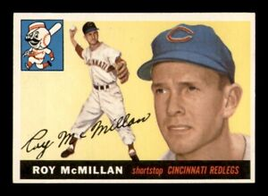 1955 Topps Set Break # 181 Roy McMillan EX *OBGcards*