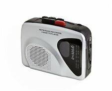 Groove Personal Cassette Player & Recorder Retro Tape AM / FM Radio with Speaker