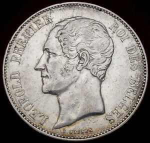 Belgium 5 Francs 1858 (H2804)