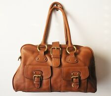 EUC The Limited Tan Large Satchel Purse
