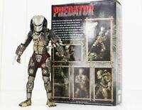 "brand new NECA Jungle Hunter Predator Movie 7"" Action Figure Collection 1:12"