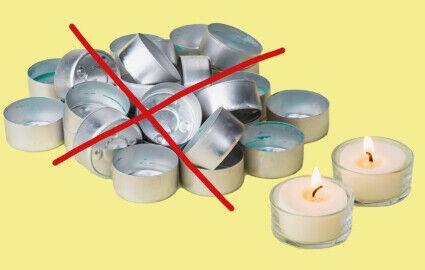 Grüne Lichter   Kein Alu Müll mehr!