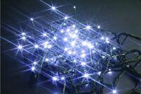 96 LED Lumières Blanc X Extérieur IP44 Câble 5 MT Arbre de Noël 8 Fonctions Feu