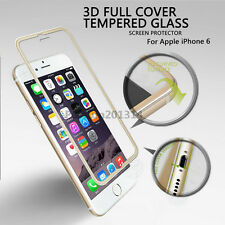 3D Full Edge Coverage Tempered Glass Film Screen Protector For iPhone 6 7 Plus