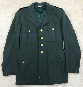 U.S. Army Class A 100% Wool AG-44 Uniform Blouse Dated 1964 - 39R