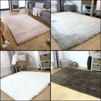 Modern Very Soft Sheepskin Shaggy Quality Silky Acrylic Rug Home Decor Carpet