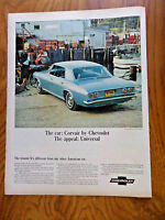 1965 Chevrolet Corvair Monza Sport Sedan Ad Universal Appeal Buying Fresh Fish