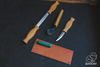 Spoon Carving Set with Drawknife BeaverCraft