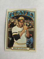 1972 Topps #447 Willie Stargell HOF Pittsburgh Pirates WELL CENTERED