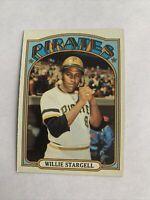 1972 Topps #447 Willie Stargell HOF Pittsburgh Pirates WELL CENTERED