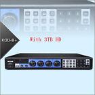 KOD-8H KARAOKE MICROPHONE Machine Player W/HDMI W/3TB HD Default CN EN Songs