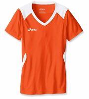 ASICS Unisex-Child Jr. Set Jersey, Orange/White, Large