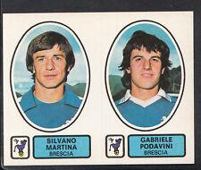 PANINI CALCIATORI FOOTBALL Adesivo 1977-78, N. 382, BRESCIA-Silvano Martina