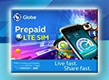 GLOBE Philippines Prepaid ROAMING SIM Card Regular Micro Nano w/ 300 Load