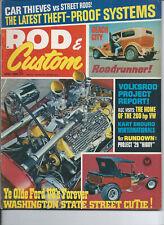 ROD & Custom June 1968-'29 Highboy Project-VRod Project-Revmaster-Del Webb 400