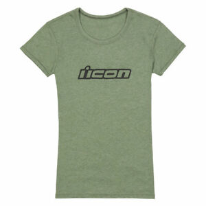 Icon Clasicon Ladies Fashionable Casual Wear T-Shirt Green