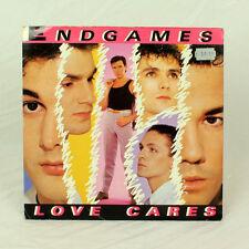 "Endgames - Love Cares - Music 12"" Vinyl Single"