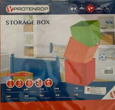 Tiroir/Boite/Panier/Bac Pliante Tissu Rangement Cube orange