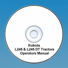 KUBOTA TRACTOR PARTS MANUAL l295dt L295 DT