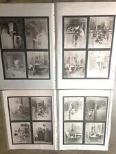 R.Hendrickson Lithograph Tin Photo Proof Sheet Nude Woman Pin Up Hillbilly #2