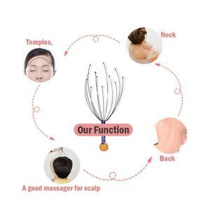1/pcs Octopus Head Massager Scalp Handheld Head Massager Scratcher Scalp