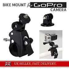 -HEAVY DUTY- Bicycle Bike Motorbike Bar Mount Clamp for GoPro Cam Hero 2 3+ 4 5