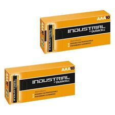 20x Duracell AAA Batteries INDUSTRIAL Alkaline LR03 MN2400 Replaces Procell AAA