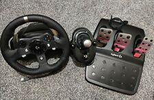 Logitech G920 Racing Wheel, peddles and gear shifter for Xbox One & PC