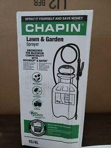 Chapin 1-Gallon Sprayer Hand Pump Garden Weed Pest Killer Backyard Multi Purpose