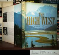 Blacklock, Les; Russell, Andy THE HIGH WEST Signed 1st 1st Edition 1st Printing