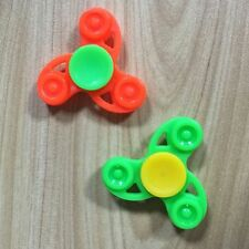 Plastic Tri Fidget Hand Spinner Desk Toy EDC Finger Gyro Fashion Gift Pocket Toy