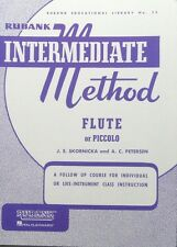 Rubank Intermediate - Flute or Piccolo ( Rubank Educational Library)